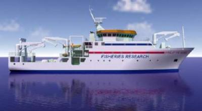Fisheries reseach vessel NB 1378