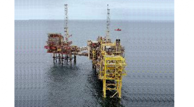 Shell Clipper Platform - British North Sea
