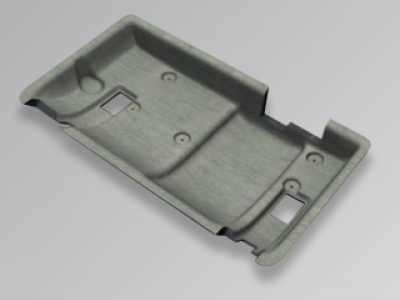 ISOVER Moulded part car