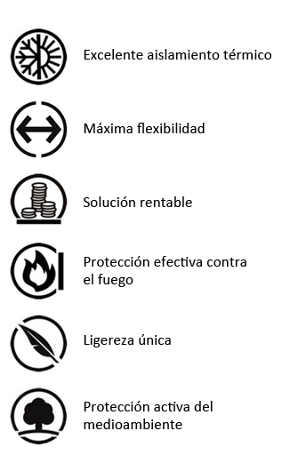 Prestaciones de la lana de vidrio ISOVER para la industria