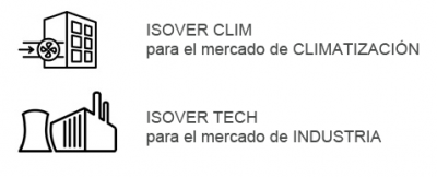 Gama ISOVER CLIM - TECH