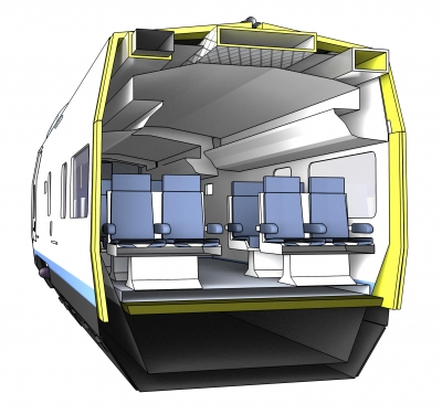 Train insulation