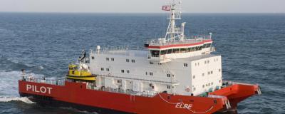 Pilot Station boat Elbe