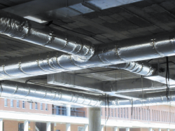 HVAC applications - glass wool external insulation ducts