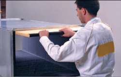 HVAC applications - internal insulation ducts