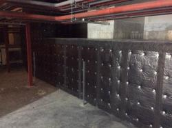 U Protect Black facing for fire protection