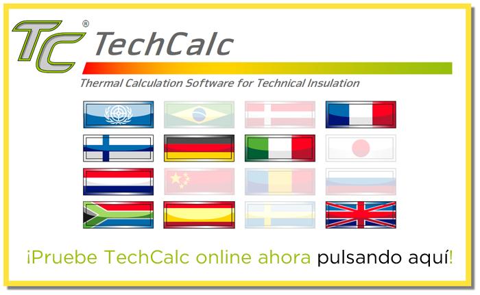 Pruebe TechCalc Online ahora